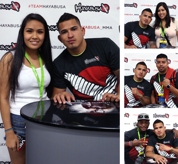 anthony showtime pettis, hayabusa mma, hayabusa fight, ufc fan expo