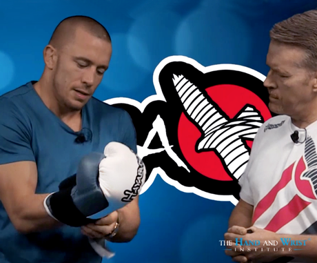 Georges St-Pierre Explains Which Size of MMA Gloves You Should Be Using