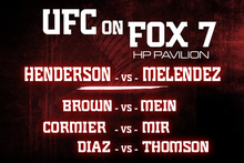 UFC on FOX 7: Main Card Preview