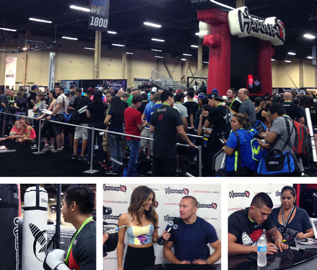 Team Hayabusa's UFC Fan Expo 2014 Recap