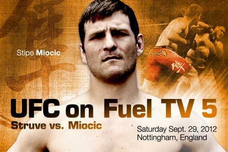 UFC on Fuel TV 5 Struve vs. Miocic