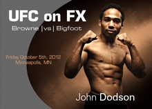 UFC on FX: Browne vs. Bigfoot