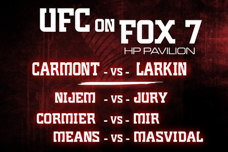 UFC on FOX 7: Preliminary Card Preview